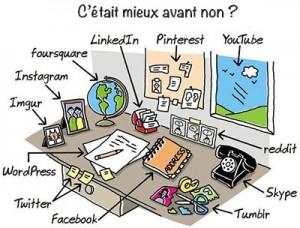 communication internet réseaux sociaux